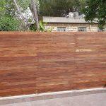 מחיר גדר מעץ