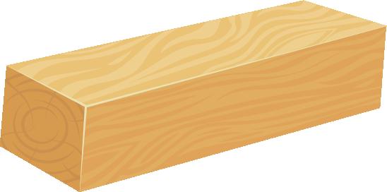 קורת עץ גושני