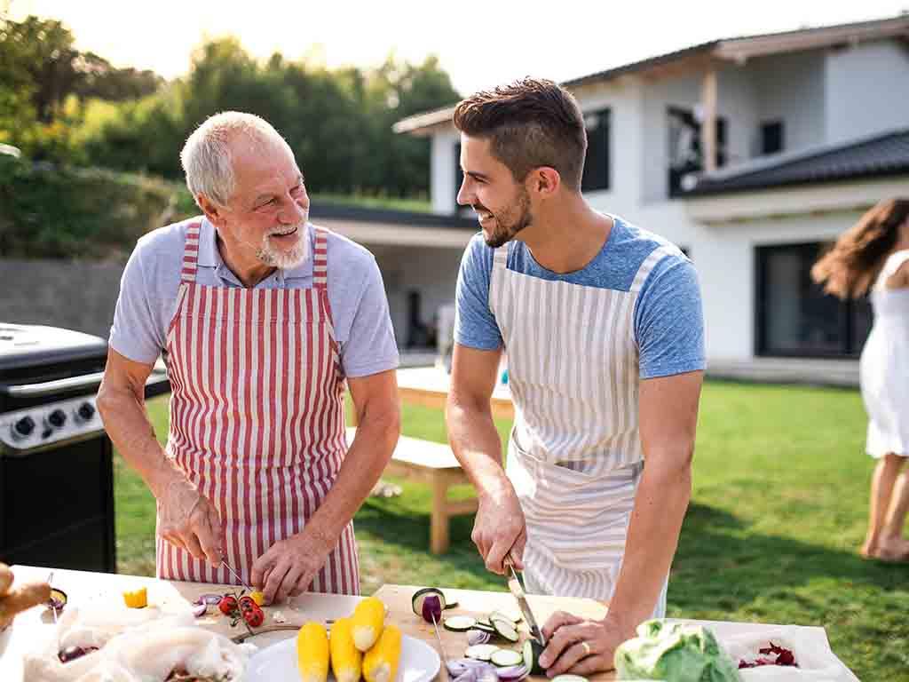 מטבח בחצר