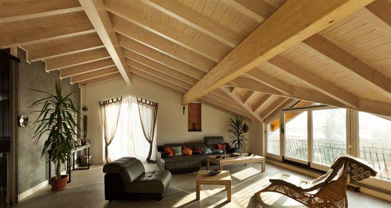בניית גג חשוף